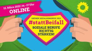 #StattBeifall: Einladung zum Grünen Sozialkongress!