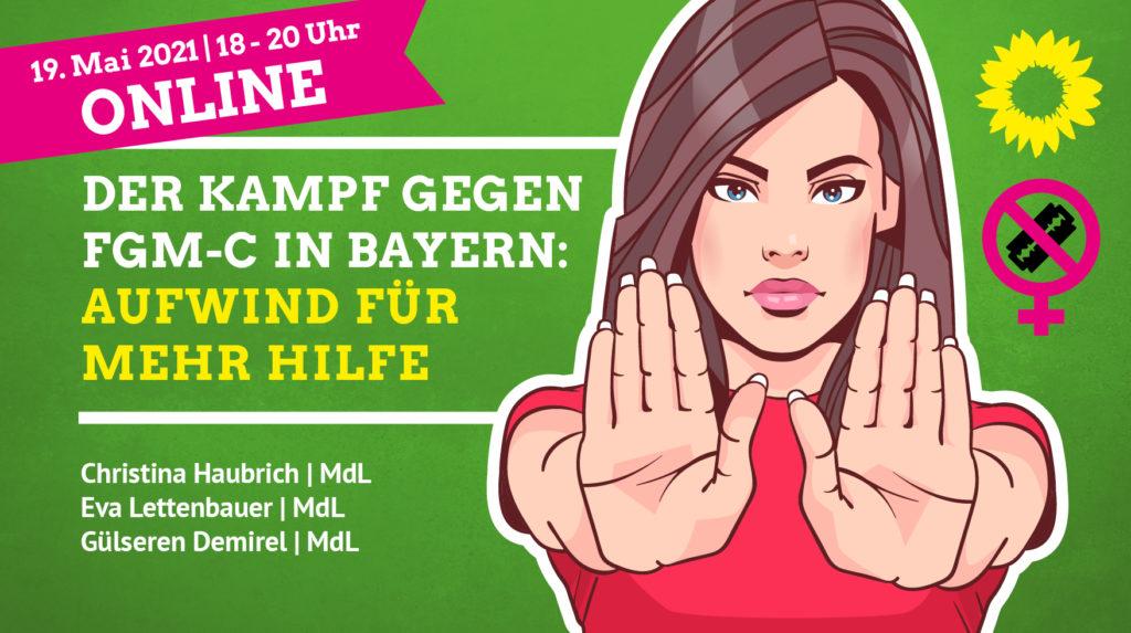 Einladung Online: Einsatz gegen weibliche Genitalverstümmelung (FGM-C) in Bayern: Aufwind für mehr Hilfe