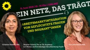 Einladung Online Fachgespräch: Arbeitsmarktintegration von geflüchteten Frauen und Migrant*innen