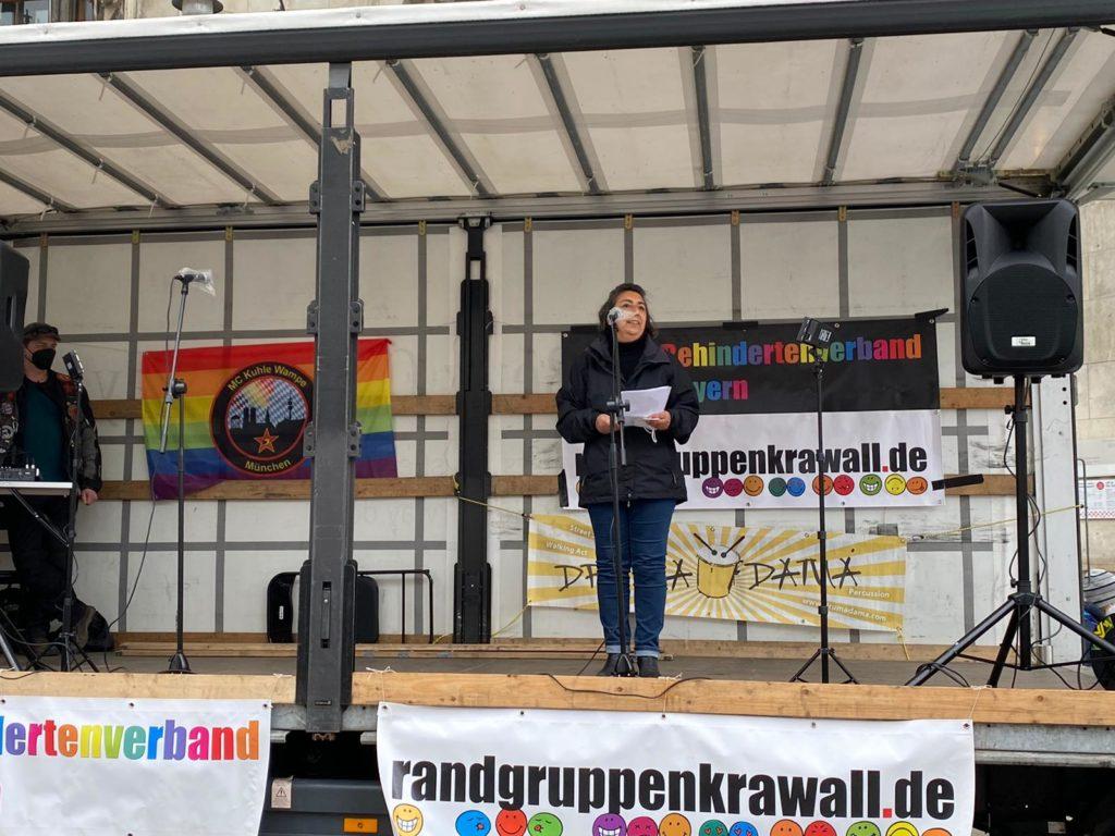 Echte Teilhabe für Menschen mit Behinderung – jetzt! – Mein Beitrag auf der Kundgebung auf dem Marienplatz